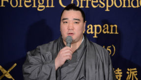 Ex-Sumo champion Harumafuji fined for 500,000 yen for assaulting junior wrestler