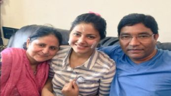 Apart from Hina Khan's fans, her parents are also rooting for their daughter