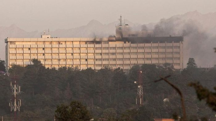 At least 4 gunmen attack Intercontinental Hotel in Kabul; 2 killed