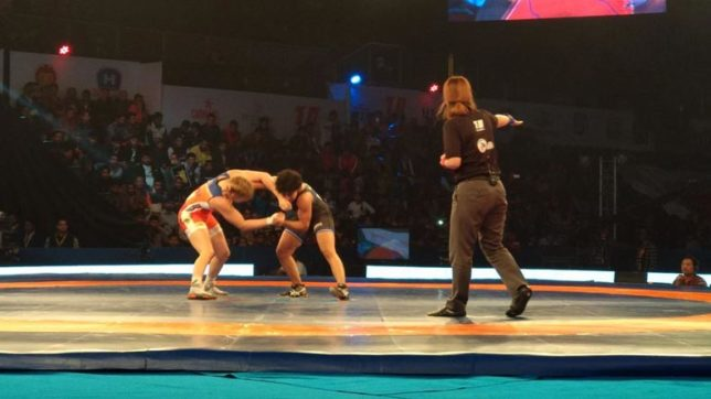 India's Pooja Dhanda upsets world champion Helen Maroulis in PWL Season 3