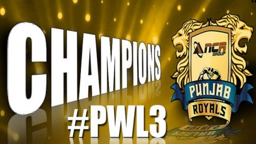Pro Wrestling League 2018 Season 3 FINAL Live Updates: Mighty Punjab Royals overpower Haryana Hammers by 6-3 to lift trophy