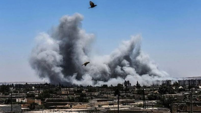 Turkish airstrikes, shelling in Syria kill 18 civilians