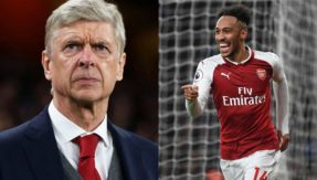 Arsenal vs Tottenham: Arsene Wenger urges Aubameyang to follow Thierry Henry's footsteps
