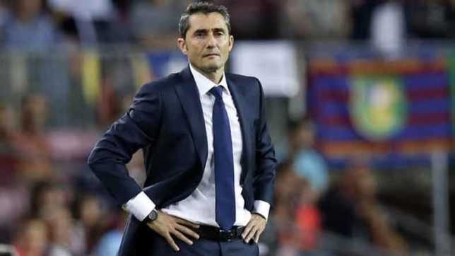 Ernesto Valverede not worried about Chelsea as Barcelona overcome Eibar in La Liga