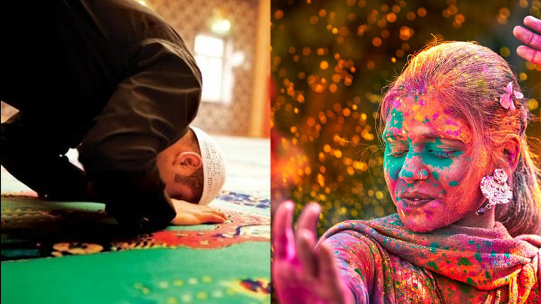 In a bid to promote communal harmony, Lucknow cleric shifts namaz timings on Holi