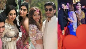 Wedding Bells! Check out photos from Mohit Marwah and Antara Motiwala's star studded mehendi and sangeet