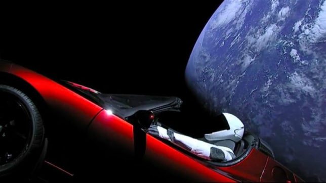 Elon Musk's Tesla Roadster might crash into Earth, scientists say