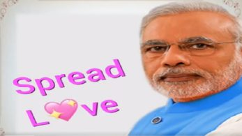 On the occasion of Valentine's Day, Congress on Wednesday released a video urging PM Modi to spread love and not 'jumlas'