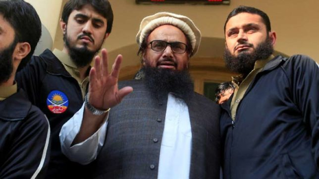 Pakistan tightens noose on UNSC banned individuals, declares Hafiz Saeed as terrorist