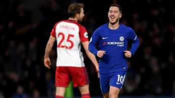 Eden Hazard, Chelsea, chelsea FC, West brom FC, West brom, Chelsea vs West brom, Premier League, English Premier League, EPL 2018, football, EPL, Premier League football, football news, sports, Victor moses, Thierry Henry