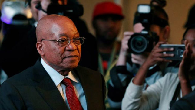 After intense pressure from party, Jacob Zuma steps down as South African President