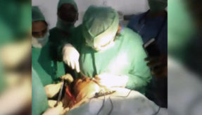 Doctors conduct plastic surgery under cellphone flashlight at Andhra Pradesh's biggest government hospital
