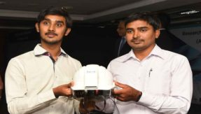 Good news! Hyderabad company invents AC helmet for industrial workers