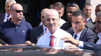 Palestinian prime minister, Rami Hamdallah, Palestine prime minister convery attacked, Mahmud Abbas, Hamas, Violence in Gaza, Palestinian territories,Gaza,Israel,Hamas,Middle East and North Africa,World news