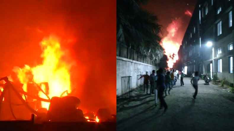 One-fatality-and-several-injured-following-fire-at-chemical-factory-in-Palghar