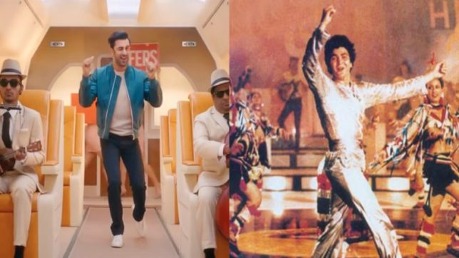 Ranbir Kapoor gives a fresh twist to Rishi Kapoor's iconic song 'Om Shaanti Om' for an ad; watch video