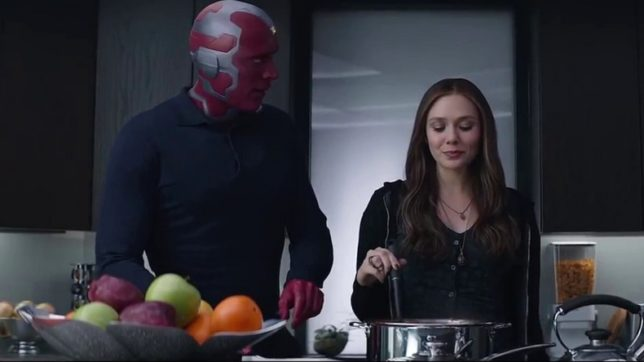 Image result for vision and wanda