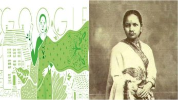 Anandibai Gopalrao Joshi, 153rd birthday of Anandibai Gopalrao Joshi, Anandi Gopal Joshi, Google Doodle, commemorates, Anandi Gopal Joshi birthday, Anandi Gopal Joshi doodle, Gopalrao Joshi, Yamuna, Kalyan, India's first lady doctor, Maharashtra, Thane, women's medical college of pennsylvania, kashmira sarode,google doodle,Drexel University College of Medicine, Technology news