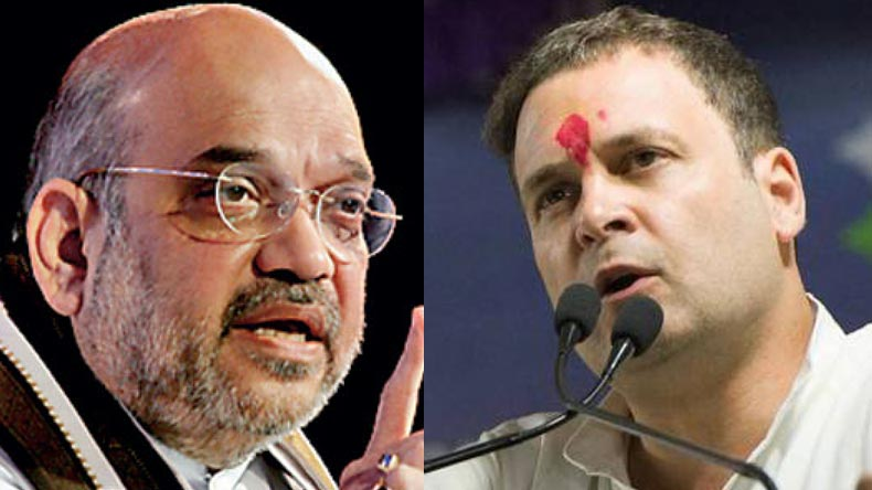 Amit Shah, Rahul Gandhi, Atrocities, SC/ST Act row, reservation, BJP president, national president BJP, Amit Shah, Bharat Bandh, protests, Dalits protest, Amit Shah, opposition, regional news, india news, national news, Bharat Bandh, Dalit protest, Supreme Court, SC ST Act