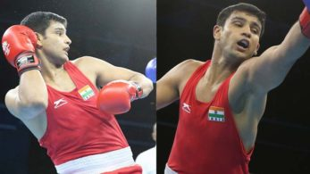 Tanwar's medal hungry attitude served him right earlier as the Haryana boxer had assured his bronze finish at Gold Coast