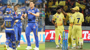 Indian Premier League, 2018 Indian Premier league, IPL live, Indian Premier League live, Live updates, Chennai Super Kings, Mumbai Indians, Chennai Super Kings vs Mumbai Indians Live score, live ipl score, live cricket score, CSK vs MI, MI vs CSK, MS Dhoni, Suresh Raina, Ravindra Jadeja, Faf du Plessis, Harbhajan Singh, Dwayne Bravo, Shane Watson, Kedar Jadhav, Ambati Rayudu, Imran Tahir, Karn Sharma, Shardul Thakur, N Jagadeesan, Santner, Deepak Chahar, KM Asif, Kanishk Seth, Ngidi, Dhruv Shorey, M Vijay, Billings, Mark Wood, Kshitiz Sharma, Monu Kumar, Chaitanya Bishnoi,