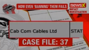 NPA files on NewsX: Cabcom Cables Ltd owes State Bank of India Rs 11 crore