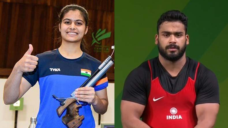 India at cwg day 4 highlights indian women win table for 10 in 1 games table australia