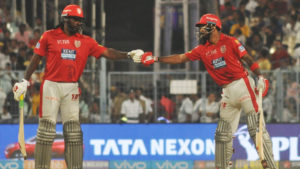 Chris Gayle, KL Rahul, Kings XI Punjab, Kolkata Knight Riders, Kings XI Punjab vs Kolkata Knight Riders, KXIP vs KKR, Chris Lynn, Indian Premier League, C Gayle, 2018 Indian Premier League, cricket, Dinesh Karthik, Andrew Tye,