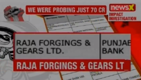 NPA files on NewsX: Raja Forgings and Gears Ltd owes Punjab National Bank Rs 69 crore