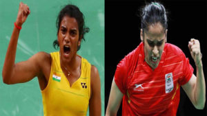 PV sindhu, saina nehwal, saina vs sindhu, badminton womens final, badminton matches, indian shuttler, commonwealth games 2018, cwg 2018, pv sindhu vs saina nehwal head to head record, pv sindhu rank, saina nehwal rank