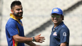 Thank you Sachin paaji, Virat Kohli writes to Master Blaster on Twitter