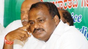 HD Kumaraswamy, JD(S), Janata Dal Secular, Congress, Karnataka, Karnataka assembly elections, HD Kumaraswamy swearing-in, Congress-JD(S) alliance, Vajubhai Vala, national news, India news