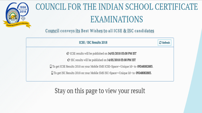 CISCE to announce ICSE and ISC results today, check details @ cisce.org