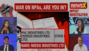 NPA files on NewsX: MVL Industries Ltd owes State Bank of Mysore Rs 9 crore