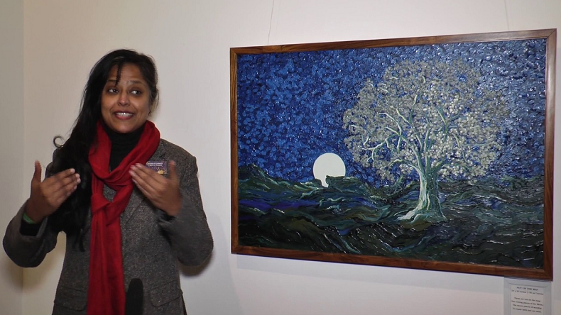 Kota neelima, artist neelima kota, paintings, Metaphors of the Moon, Lath Srinivasan, newsx