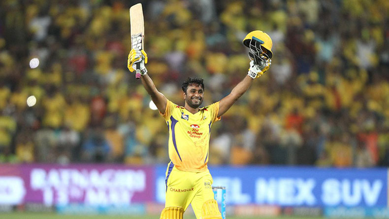 Ambati Rayudu, Chennai Super Kings, Sunrisers Hyderabad, Ambati Rayudu IPL century, Indian Premier League, 2018 Indian Premier League, IPL, IPL 2018, IPL news, MS Dhoni, Shane Watson, CSK, CSK vs SRH, SRH vs CSK, Kane Williamson, Shikhar Dhawan