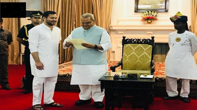 RJD, Congress meet Bihar governor, claim majority to form govt