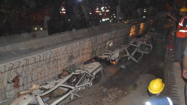 Varanasi flyover collapse: Who's God? Who's fraud?