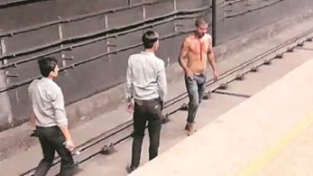 Man uses Delhi Metro tunnel in an attempt to escape penalty