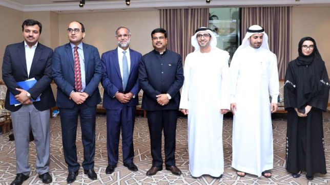 India reiterates its commitment to the Government of UAE by creating a framework for accelerating skill development in the region