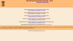 West Bengal HS Results 2018, WB HS Results 2018, West Bengal Board Results 2018, West Bengal Class 12 results 2018, wbresults.nic.in, West Bengal HS or Class 12 Results 2018, WB Class 12 Science Results 2018, WB Class 12 Arts Results 2018, WB Class 12 Commerce Results 2018'