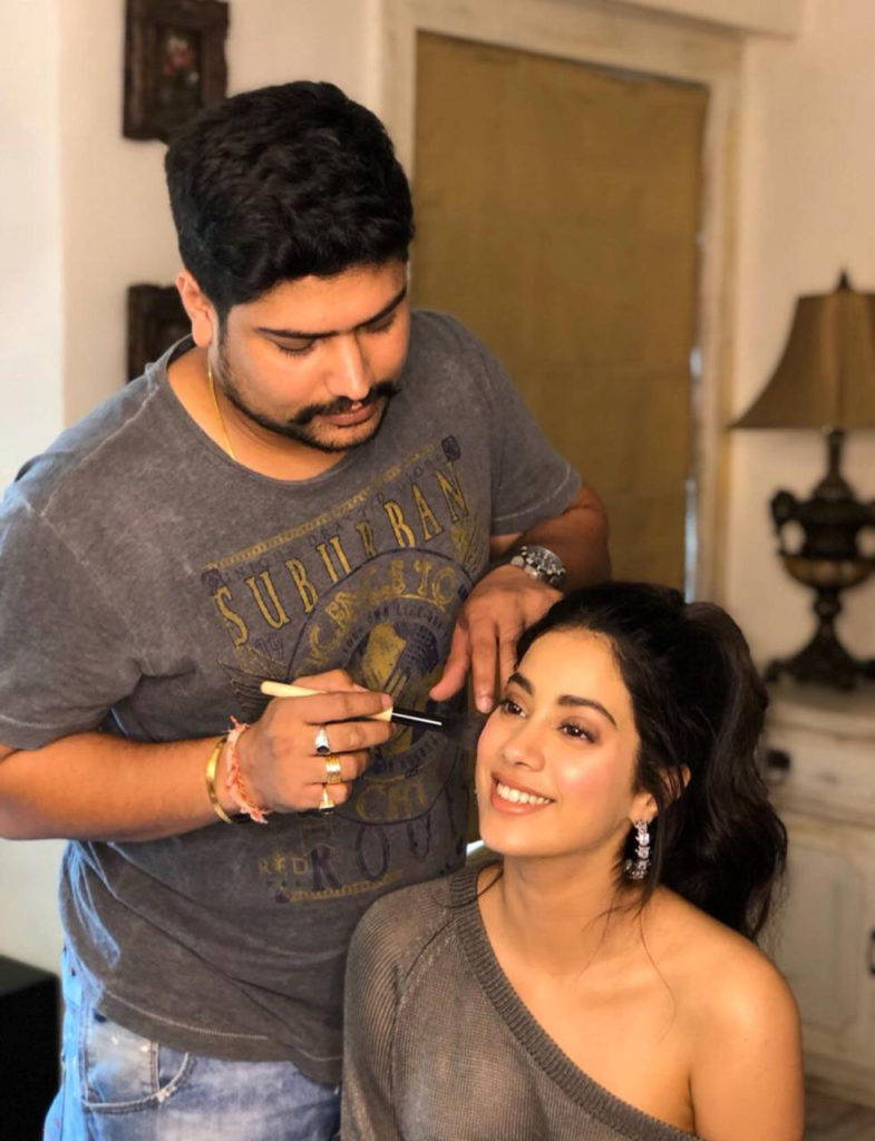 Janhvi Kapoor is as beautiful as Sridevi, says celeb makeup artist Vardan Nayak