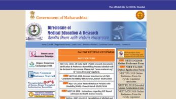 NEET UG 2018: DMER releases first selection list for MBBS