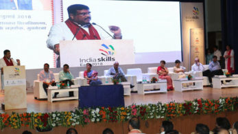 Bhubaneswar,IndiaSkills Regional Competitions,Eastern Chapter,2018,3rd Anniversary ,Skill India Mission,World Youth Skills Day,Ministry of Skill Development and Entrepreneurship,Dharmendra Pradhan