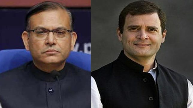 Jayant Sinha challenges Rahul Gandhi for live debate after Congress chief supported petition against union minister