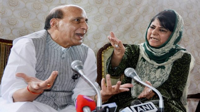 Mehbooba Mufti warns BJP: Don't try to break PDP, will lead to dire consequences
