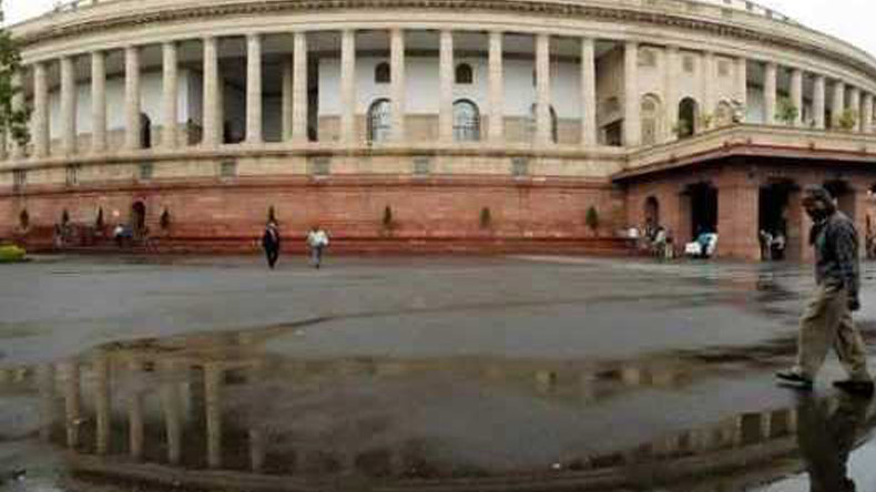No-confidence motion: Shiv Sena abstains from voting, BJD walks out