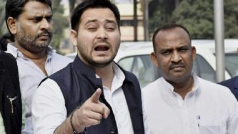 Tejashwi said that it's a conspiracy by the media to discredit and defame Anand Kumar because he hails from a low caste.