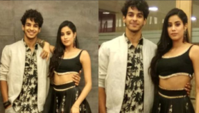 Janhvi Kapoor, Ishaan Khatter promote Dhadak in style! Watch video