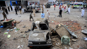 13 killed, 47 injured in a suicide bomb attack in Pakistan's Peshawar  (image used for pictorial representation)